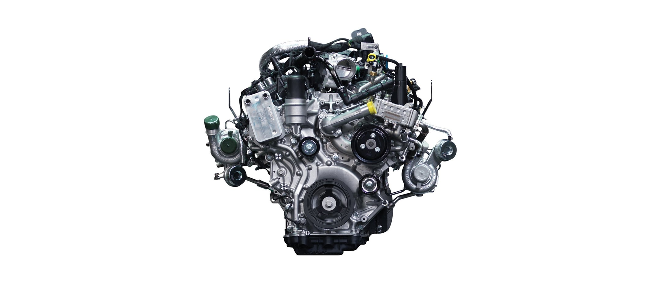 2.7L Turbocharged EcoBoost V6 Ford F150 Engine