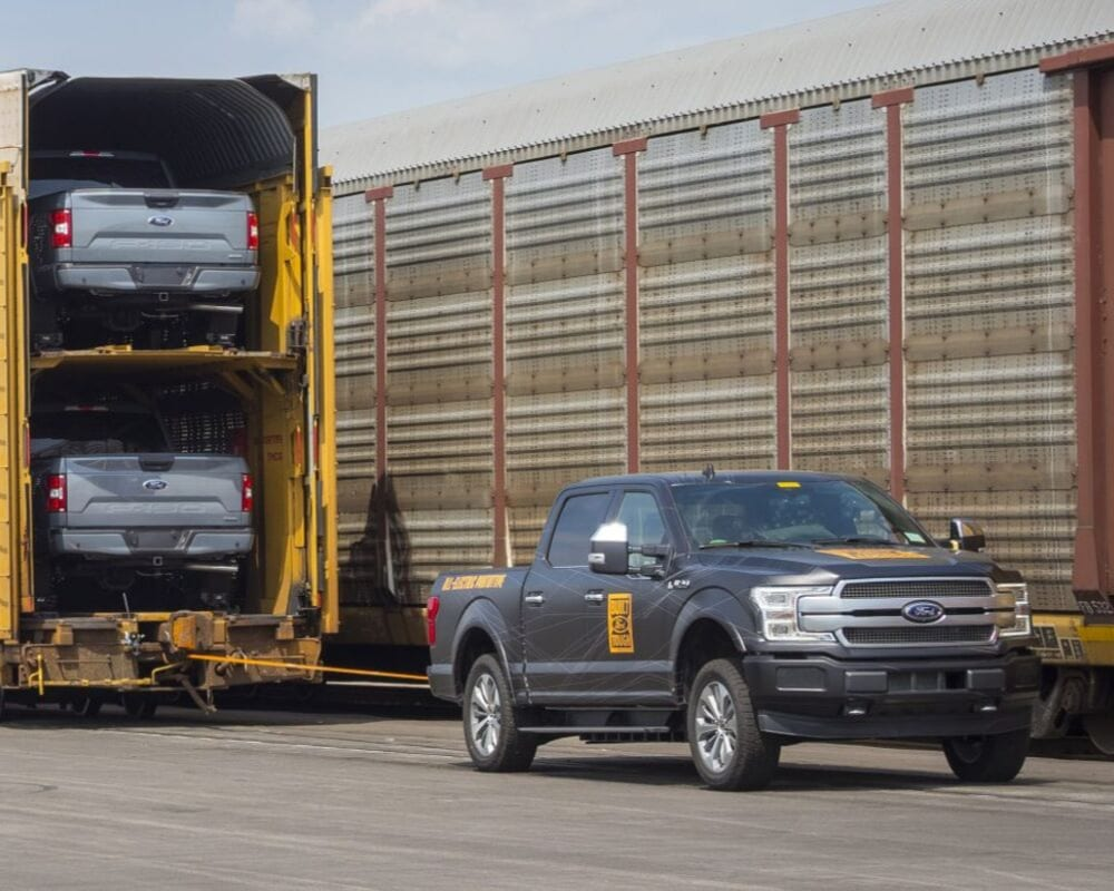 Ford F-150 Electric Hybrid Prototype towing 1m+ pounds set to begin production in the near future