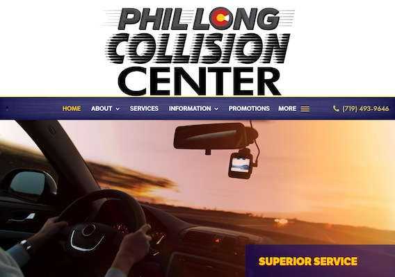 Auto Body Shop In Colorado Springs At Phil Long
