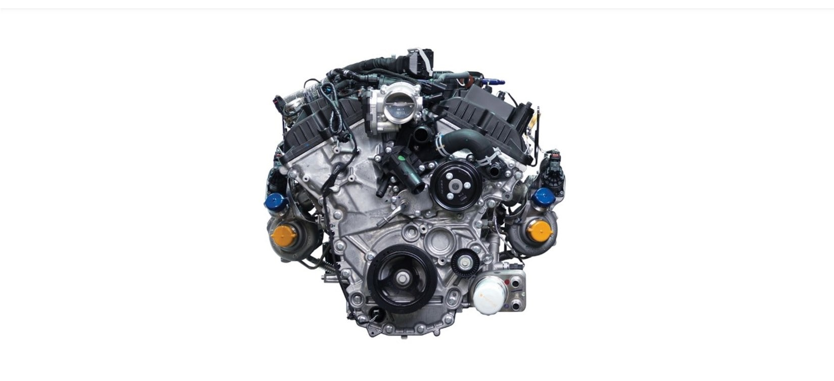 H.O. 3.5L EcoBoost Twin-Turbocharged V6 Ford F150 Engine