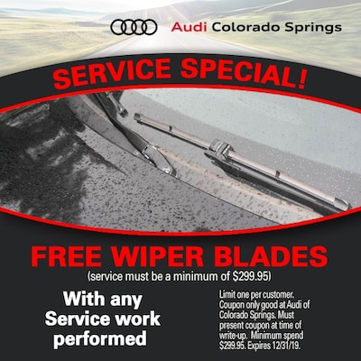 Free Wiper Blades With Service