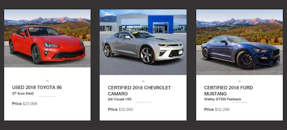 Used Sports Cars In Colorado Spring At Phil Long Dealerships