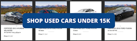 Used Cars For Sale In Colorado Springs At Phil Long