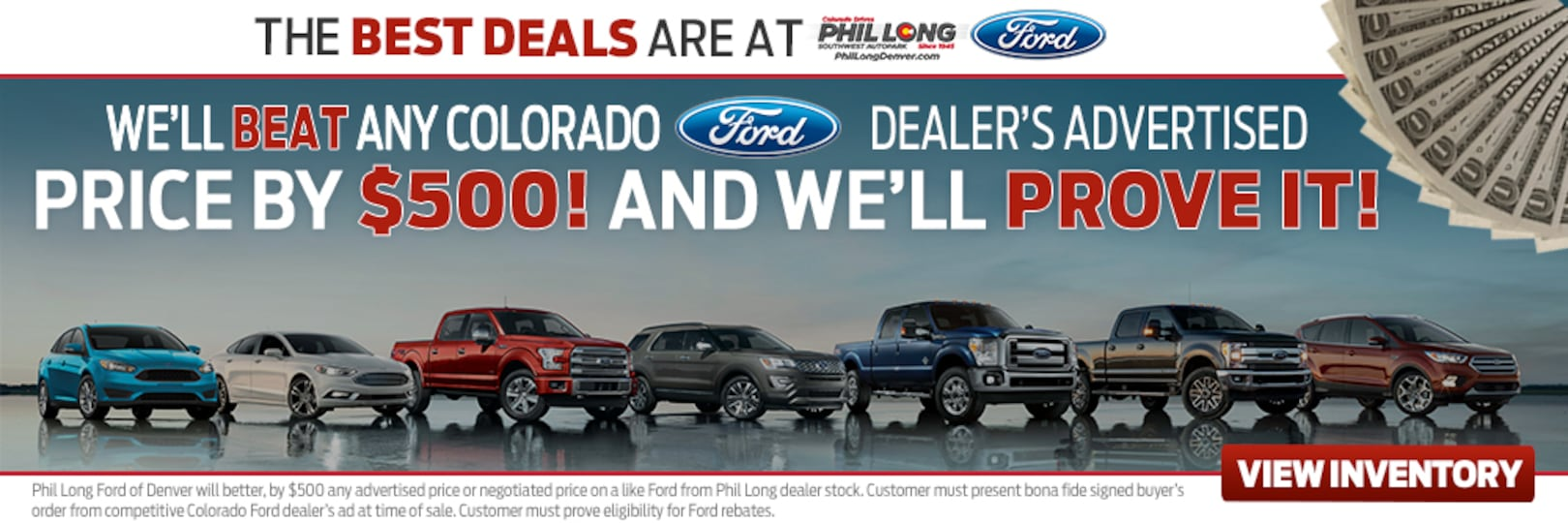 Ford Dealership, Ford Cars, Trucks in Denver at Phil Long