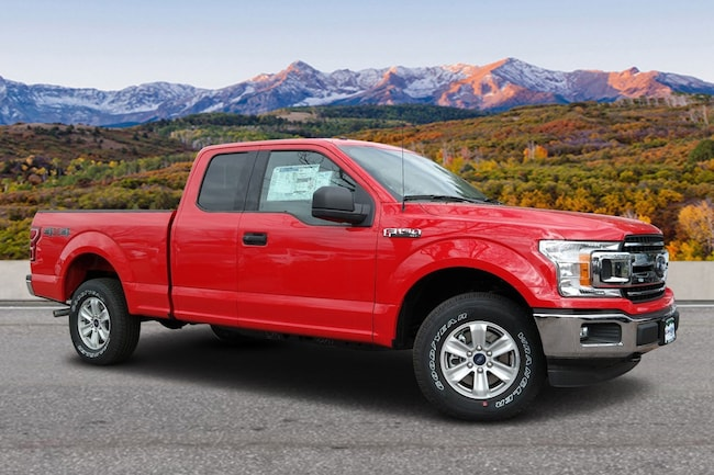 2018 Ford F-150 4WD SC Truck SuperCab Styleside