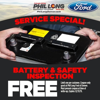 Battery & Safety Inspection