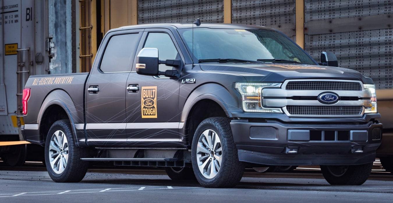 All-electric Ford F-150 prototype first-ever revealed F-150 EV truck