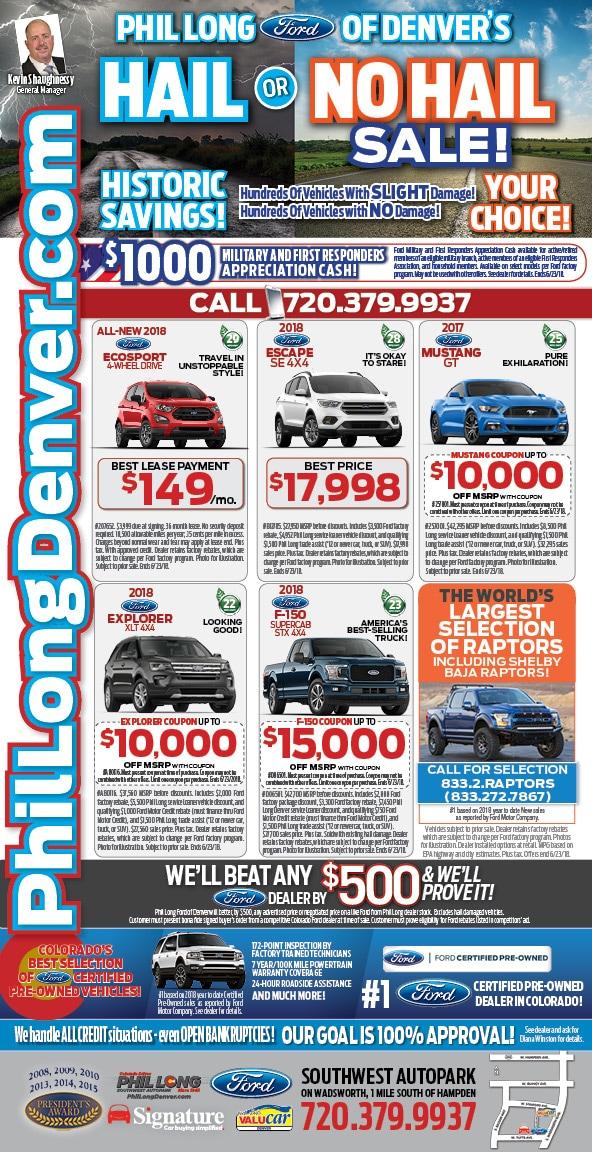 Ford Car Deals In Denver At Phil Long