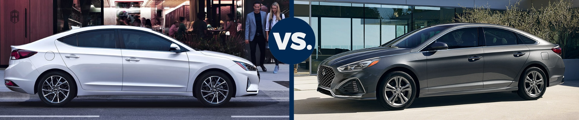 Head to head comparison of the 2019 Hyundai Elantra vs the 2019 Hyundai Sonata