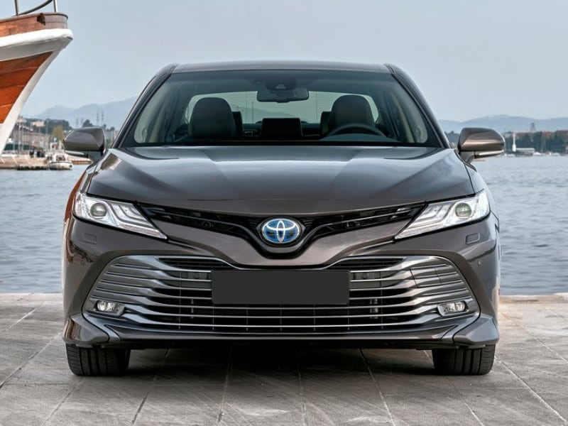Exterior view of a 2019 Toyota Camry