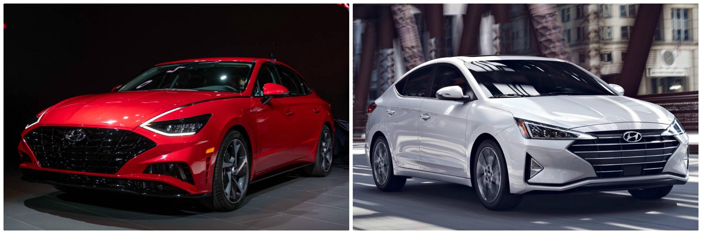2020 Hyundai Sonata vs. 2020 Hyundai Elantra | Phil Long ...