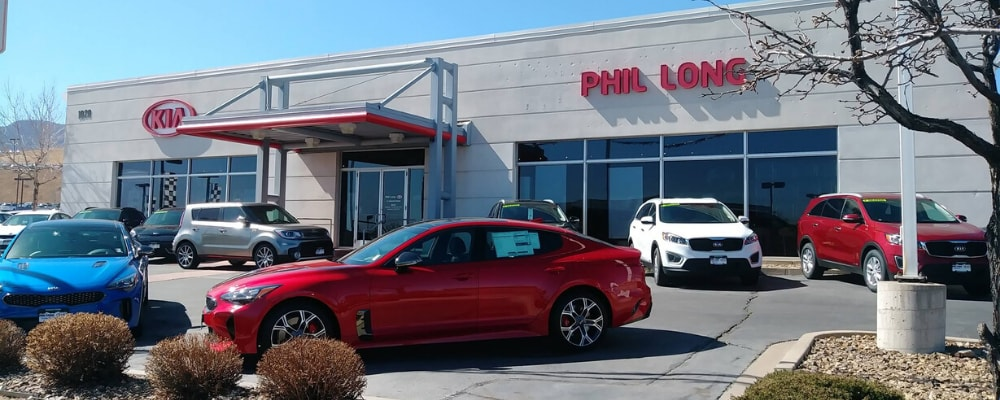 Phil Long Kia dealership near Aurora, CO