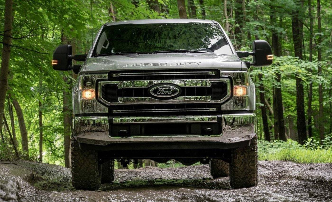 New 2021 Ford Super Duty Tremor Package