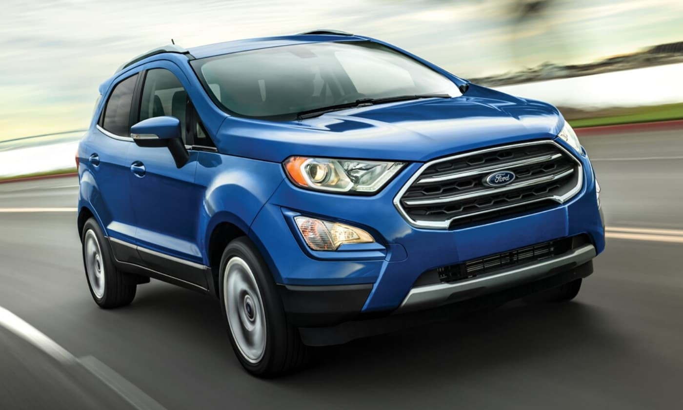 New Ford EcoSport crossover SUV in Colorado Springs