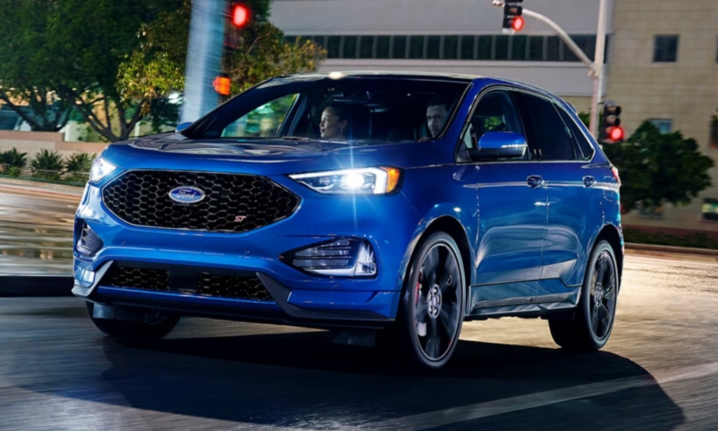 New Ford Edge crossover SUV
