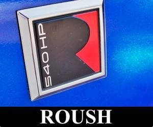 ford mustang roush emblem