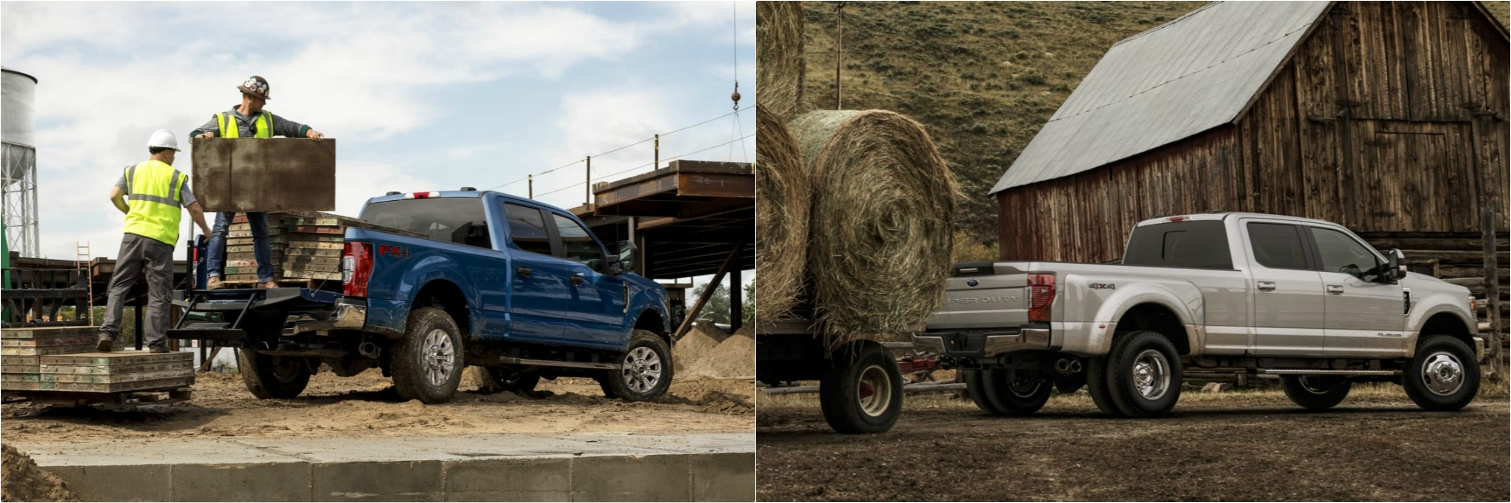 payload and towing capacity of a 2021 vs. 2020 Super Duty