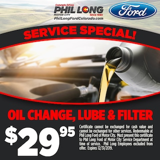 Oil Change, Lube and Filter