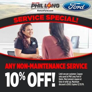 Any Non-Maintenance Service