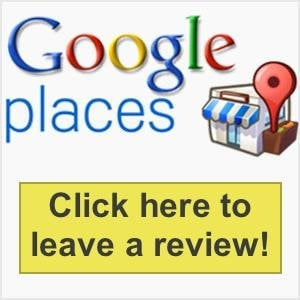 Google logo where you can click to leave a Google review on Phil Long Ford