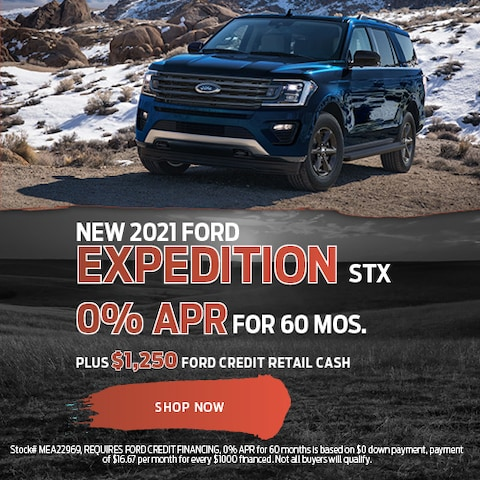 New 2021 Ford Expedition STX
