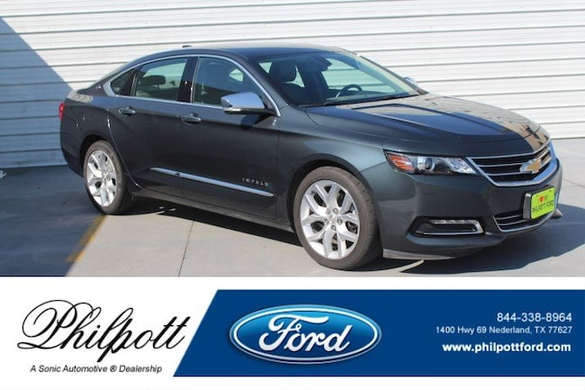 Used 2018 Chevrolet Impala Premier For Sale near Beaumont