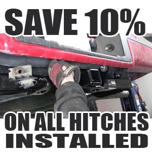TOW HITCH INSTALLATION