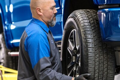Tire Rotation w/ Free Brake Inspection