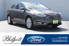 New 2018 Ford Focus Titanium Sedan near Beaumont