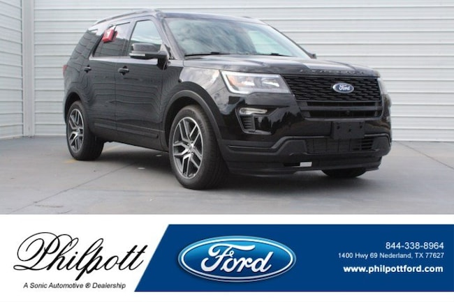 New 2018 Ford Explorer Sport SUV near Beaumont