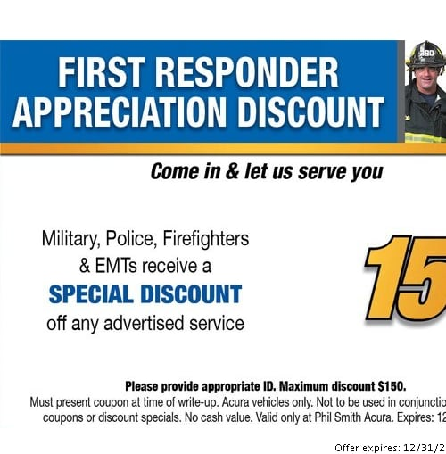 Car Service Specials At Phil Smith Acura Pompano Beach FL - Acura coupons