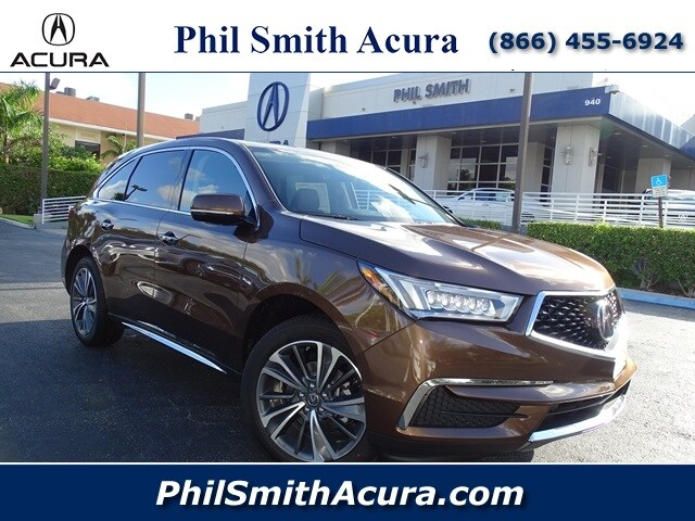 New 2019 Acura Mdx With Technology Package For Sale In Pompano Beach