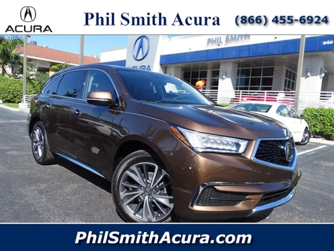 2019 Acura MDX with Technology Package SUV Pompano Beach