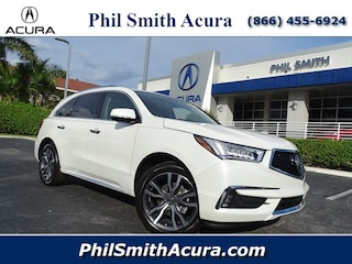New Acura 2019 Acura MDX with Advance Package SUV for sale in Pompano Beach, FL