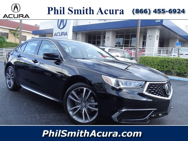 2019 Acura TLX 3.5 V-6 9-AT P-AWS with Technology Package Sedan Pompano Beach