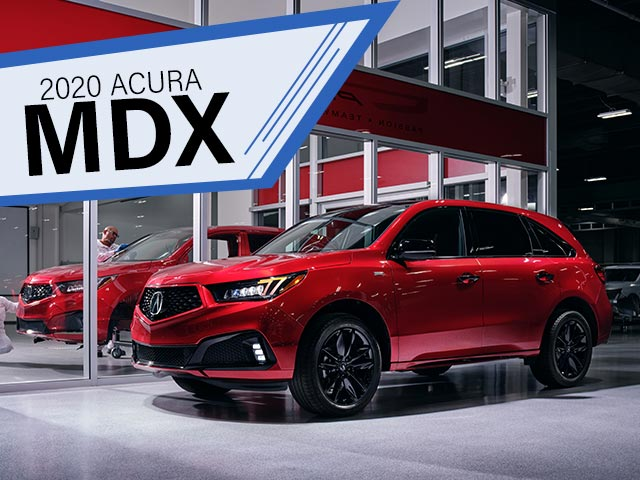 red 2020 acura mdx lease in pompano beach, south florida