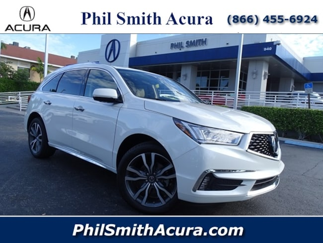 2019 Acura MDX SH-AWD with Advance Package SUV Pompano Beach