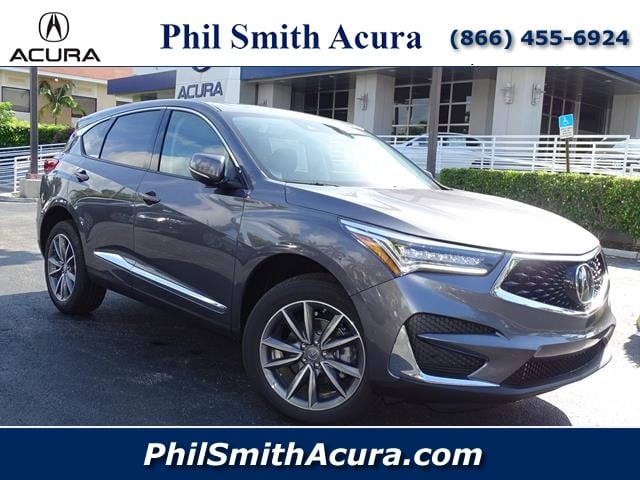 Featured new 2019 Acura RDX with Technology Package SUV for sale in Pompano Beach FL, near Miami