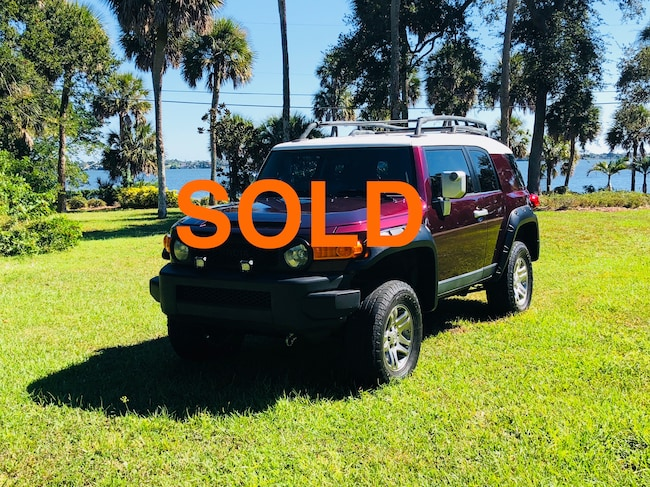 2007 Toyota FJ Cruiser Base SUV