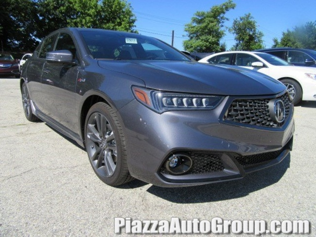 New 2019 Acura TLX 2.4 8-DCT P-AWS with A-SPEC Sedan in Ardmore PA