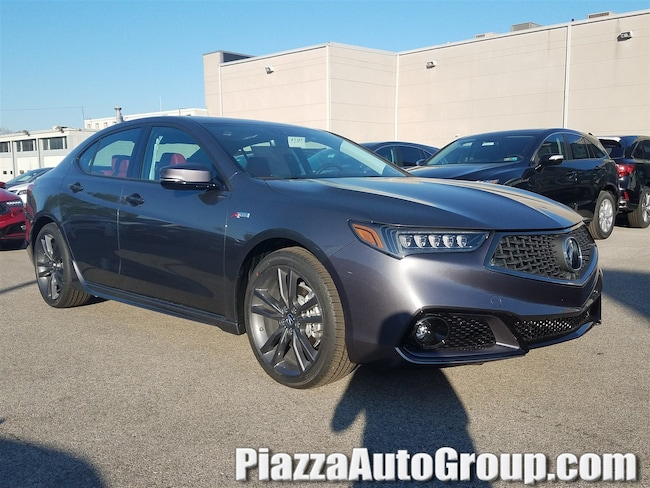 New 2019 Acura TLX 3.5 V-6 9-AT P-AWS with A-SPEC RED Sedan in Ardmore PA