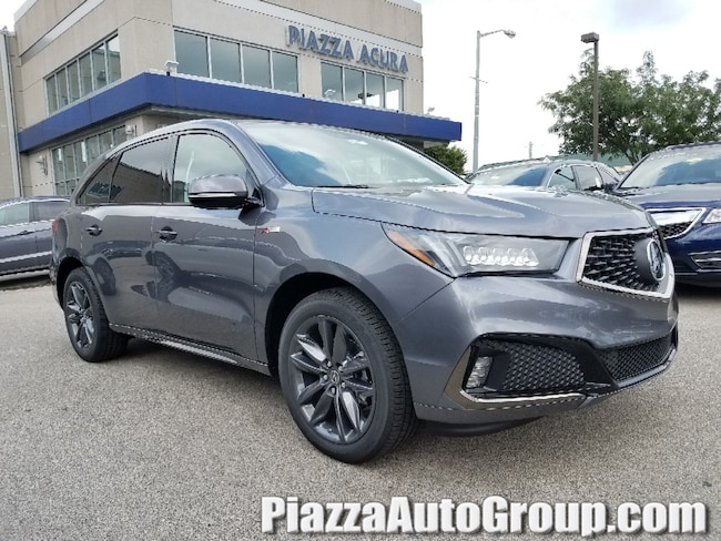 New 2019 Acura MDX SH-AWD with A-Spec Package SUV in Ardmore PA