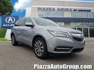 Certified Pre-Owned 2016 Acura MDX w/Tech SH-AWD  w/Tech A95122A in Ardmore, PA