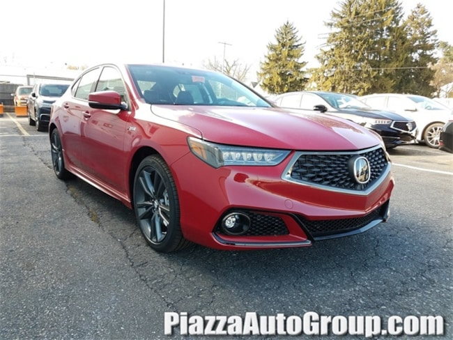 New 2019 Acura TLX 3.5 V-6 9-AT P-AWS with A-SPEC Sedan in Ardmore PA
