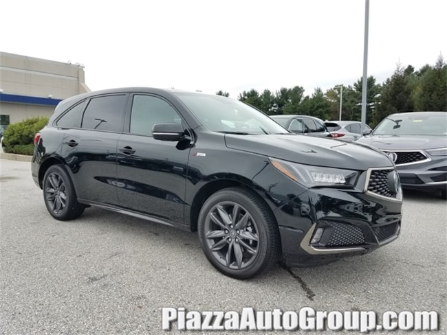 New 2019 Acura MDX SH-AWD with A-Spec Package SUV in Reading PA