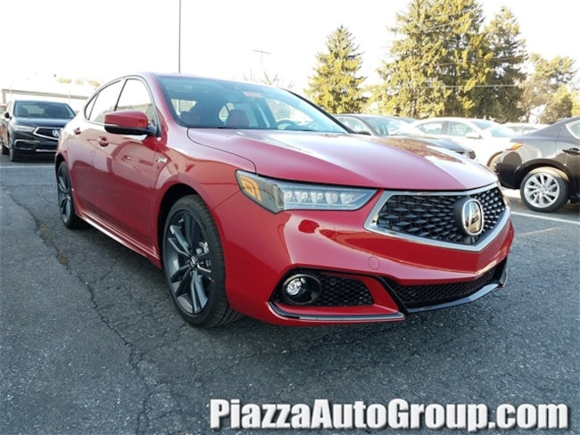 New 2019 Acura TLX 3.5 V-6 9-AT P-AWS with A-SPEC RED Sedan in Reading PA