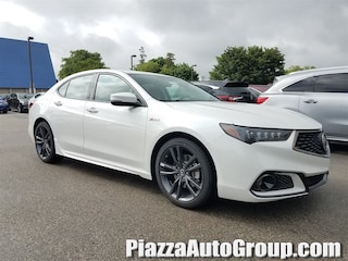 New 2019 Acura TLX 3.5 V-6 9-AT SH-AWD with A-SPEC RED Sedan 19T131 in West Chester, PA