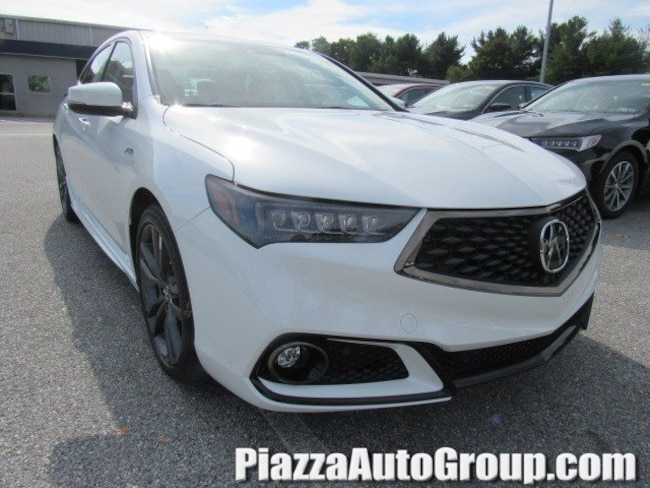 New 2019 Acura TLX 3.5 V-6 9-AT SH-AWD with A-SPEC RED Sedan in West Chester PA