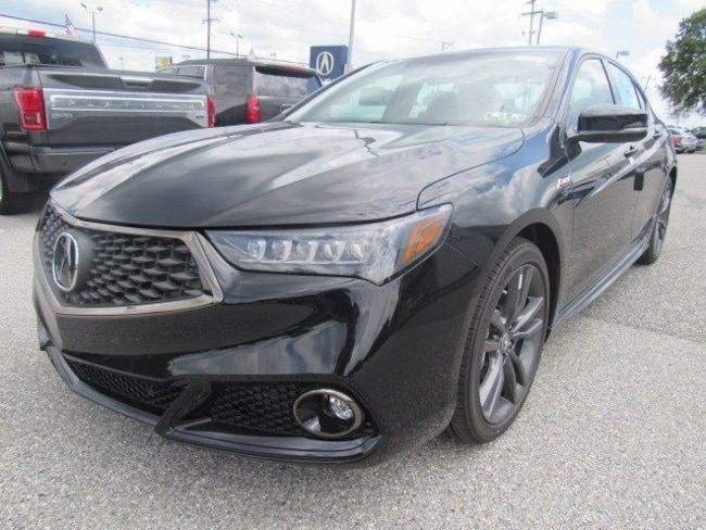 new 2019 acura tlx 2 4 8 dct p aws with a spec for sale in west chester pa vin 19uub1f61ka004795. Black Bedroom Furniture Sets. Home Design Ideas