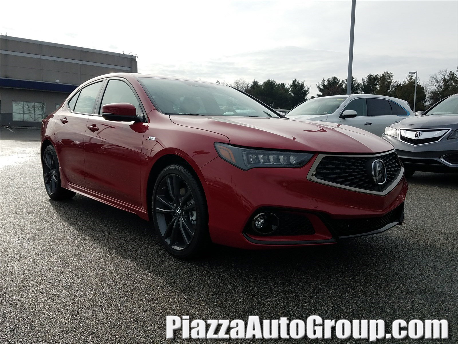 Featured New 2019 Acura TLX 3.5 V-6 9-AT P-AWS with A-SPEC RED Sedan for sale in West Chester, PA